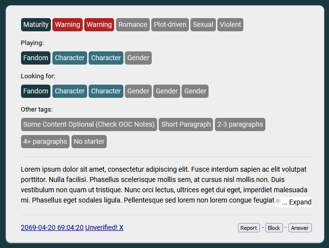 A screenshot of the website with the fix applied.